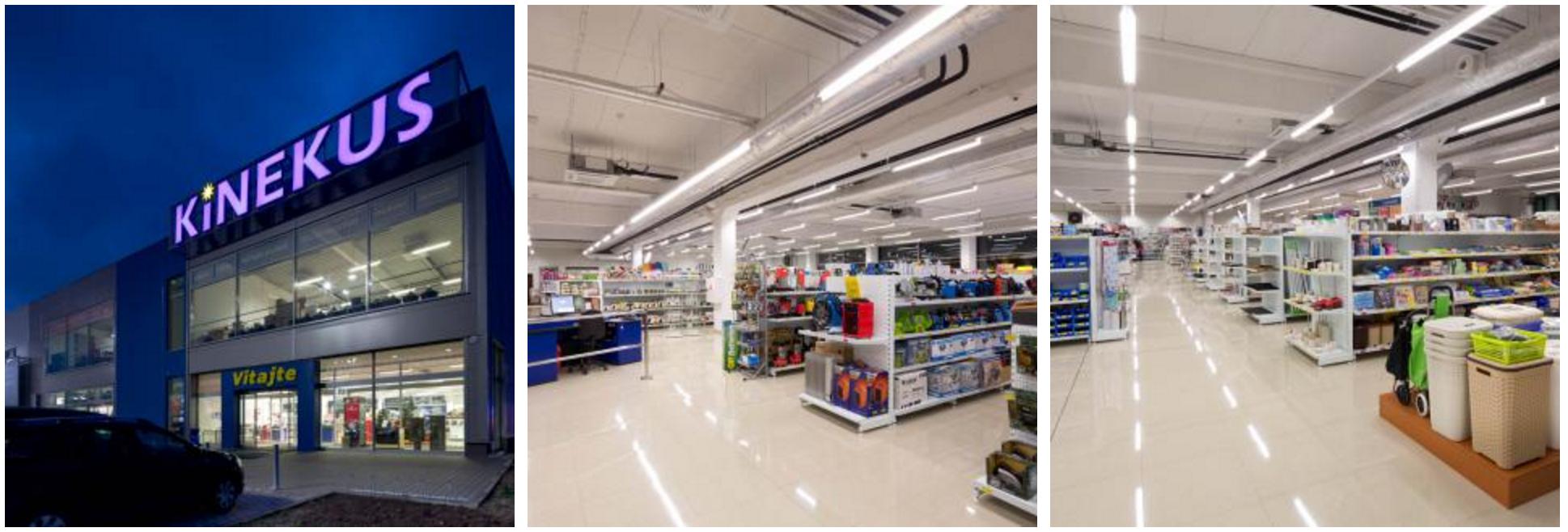 792f0415b152 Návrh osvetlenia nových obchodov Kinekus od firmy OMS Lighting